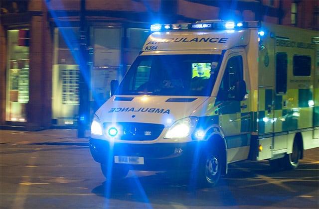 Ambulance-with-blue-lights-flashing-640x420