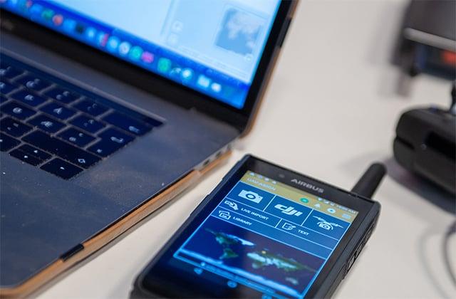 Tactilon Dabat configured with PC