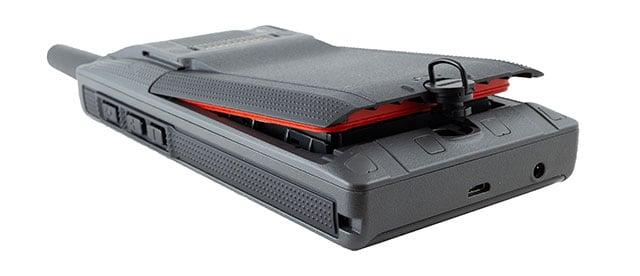 Tactilon Dabat removable battery