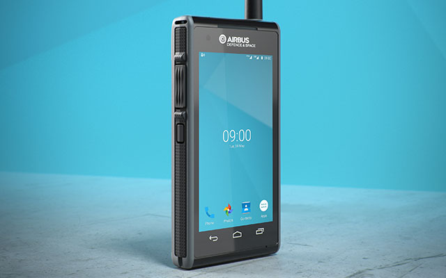 Tactilon Dabat, a smartphone and a full TETRA radio in one device