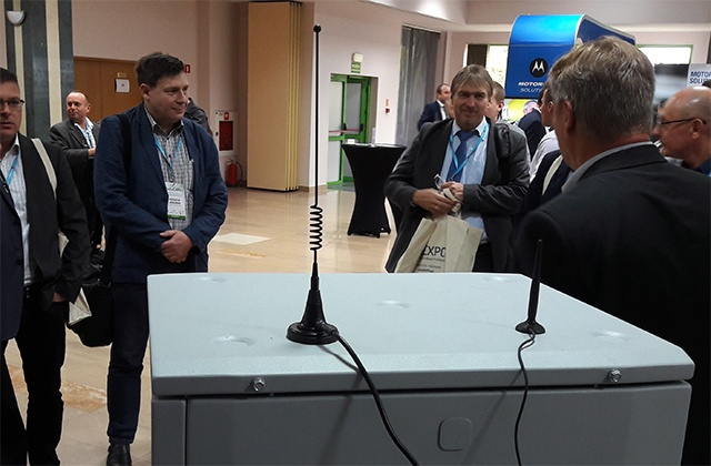 Claricor Cell, 10-minute deployable TETRA system presented at RadioExpo Poland