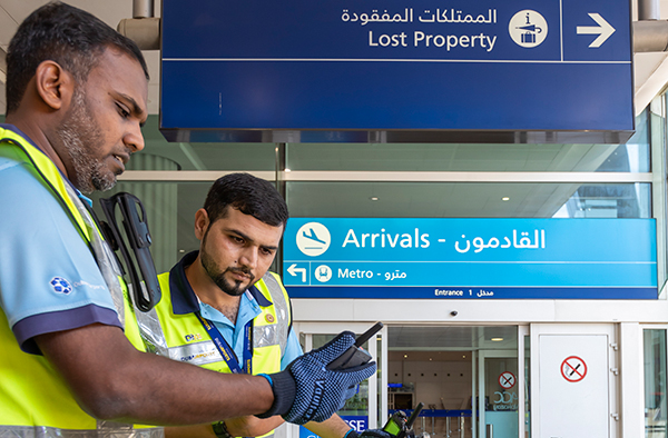 3 important benefits from hybrid communications at Dubai Airport