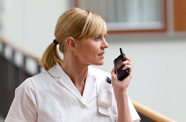 Keeping medical staff and patients safe with the help of TETRA radio communications