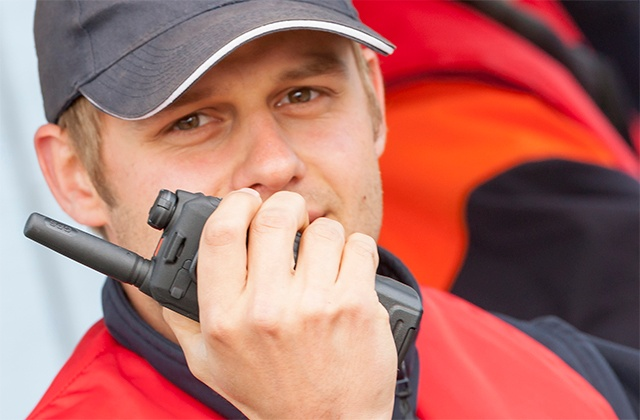 Professional with an easy to use TETRA radio