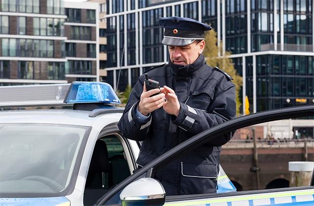Police using Tactilon Dabat in Germany