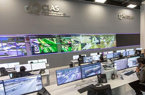Querétaro command centre in Mexico