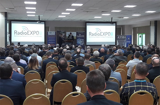 RadioExpo Poland - view from the conference