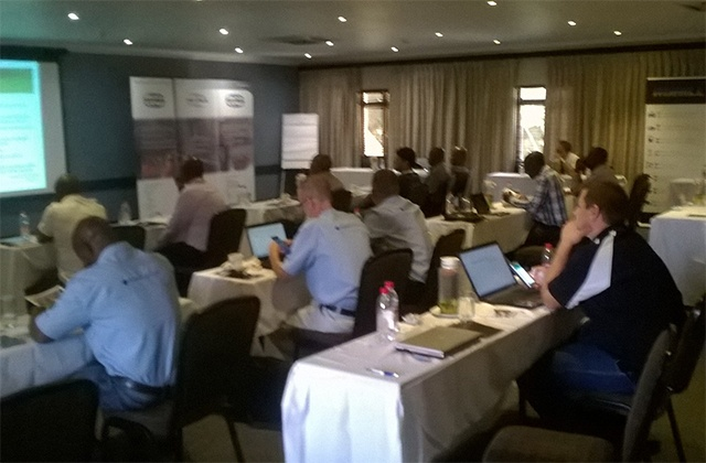 TETRA in Botswana session ongoing