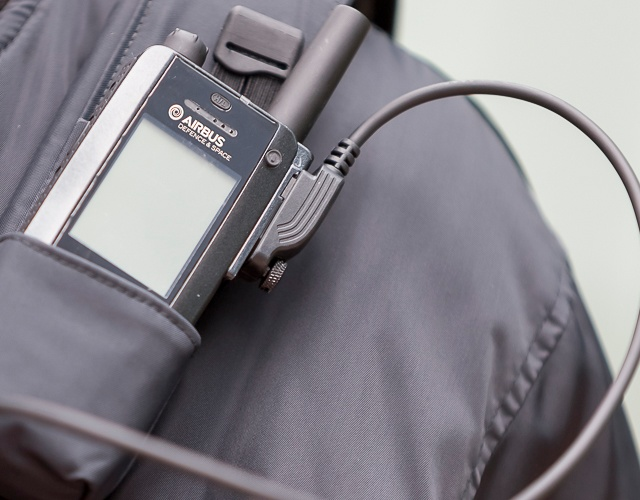 Carrying accessory for TH1n TETRA radio