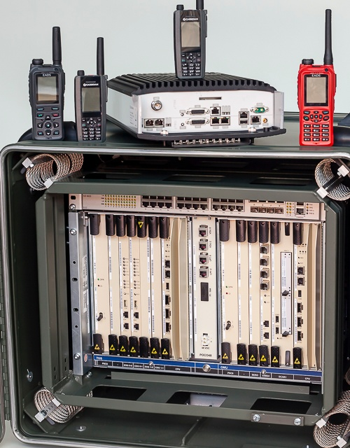 DXT3p, TB3p and ATEX radios for the Claricor system