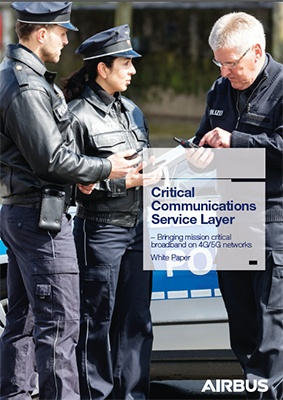 Cover - Critical Communications Service Layer white paper