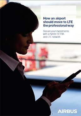 Cover page: How an airport should move to LTE the professional way executive briefing