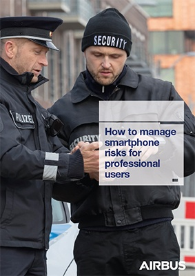Cover page - How to manage smartphone risks for professional users