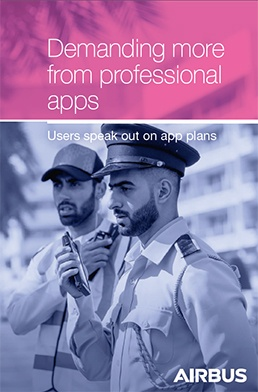 Cover page: Demanding more from professional apps - Survey report
