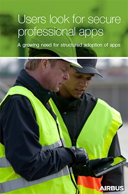 Cover - Users look for secure professional apps