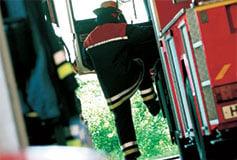 Fireman-climbs-to-a-fire-truck-237x160