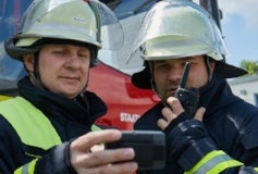 German_voluntary_firefighters_using_P8GR_and_THR9_237x160