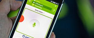 Tactilon Agnet app