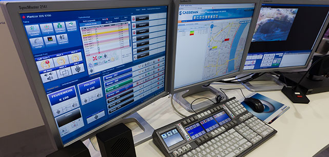 RCS 9500 TETRA dispatching solution