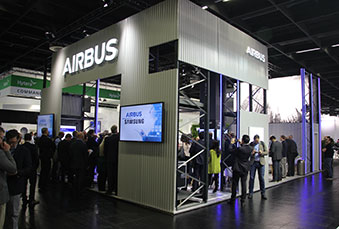 Airbus stand at the PMRExpo 2018