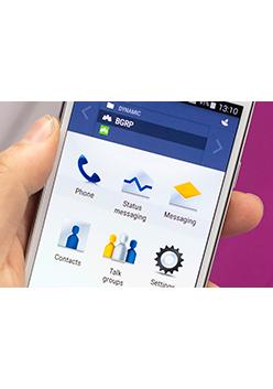 Tactilon Agnet app brings push-to-talk to smart devices