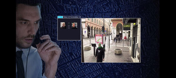 Football match security - SNUC situational awareness video screens