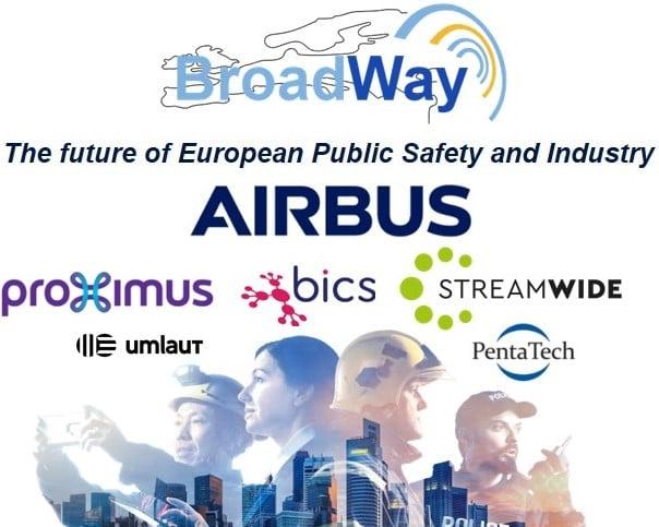 Le consortium Airbus a achevé la phase deux du projet européen BroadWay