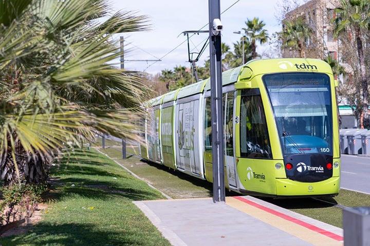 Airbus sélectionné pour rénover le réseau de communications du tramway de la ville de Murcie