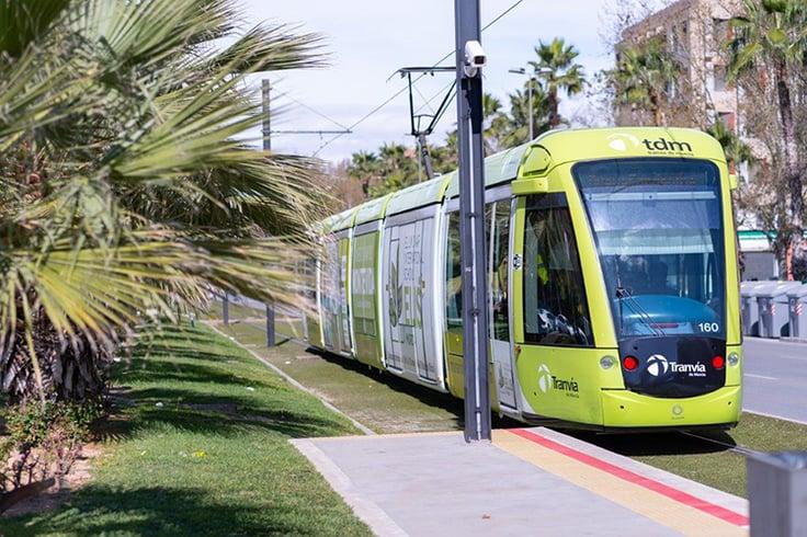 Tranvía de Murcia tram
